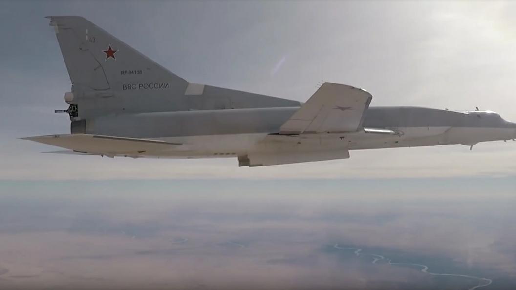 Ту-22МЗ ВКС России, выполнявшие задачи в Сирии, вернулись в пункт постоянной дислокации