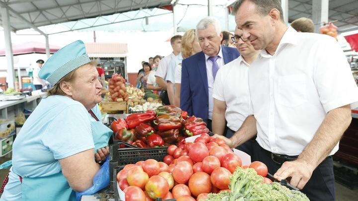 Вениамин Кондратьев похвастался, что собирает налогов с кубанцев больше, чем Александр Ткачев