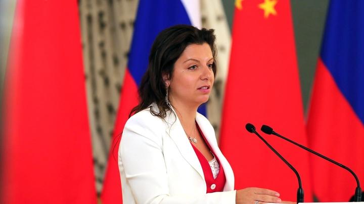 Симоньян на новый выпад Армении ответила тремя буквами