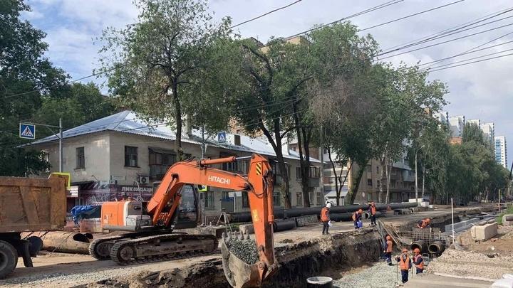 В Самаре перекрытие улицы Гаражной перенесли на август