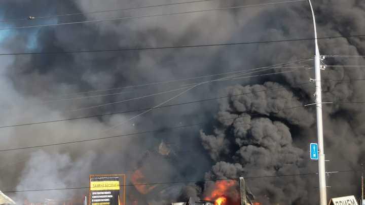 МЧС назвало причины взрыва и пожара на автозаправке в Новосибирске