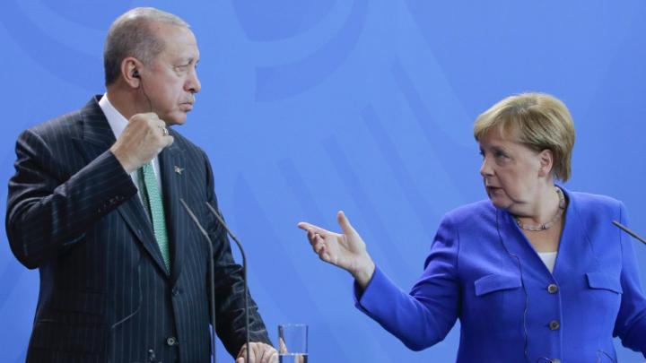 Встреча Меркель и Эрдогана: Беженцы, деньги и провокации журналистов
