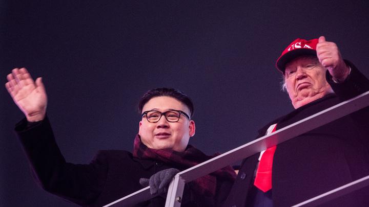 Зрителей ОИ-2018 привел в восторг дуэт Трампа и Ким Чен Ына - видео