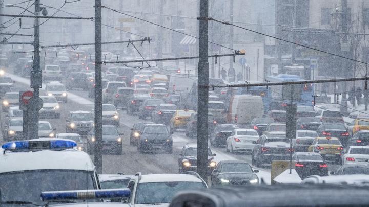 Москва заняла первое место в мировом рейтинге автомобильных пробок