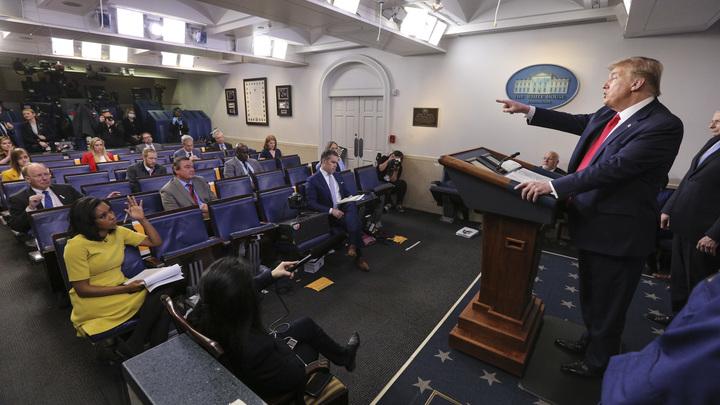 Новый хороший сценарий: Трамп улучшил свой прогноз по погибшим от COVID-19