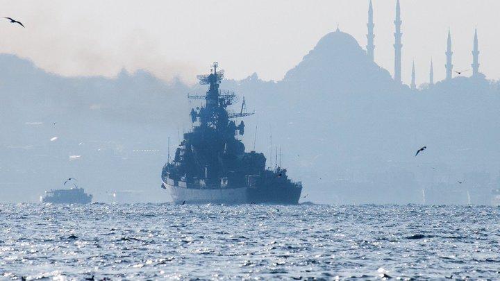 На угрозу запереть Россию в Чёрном море ответили анекдотом: Достаточно двух залпов, чтобы…