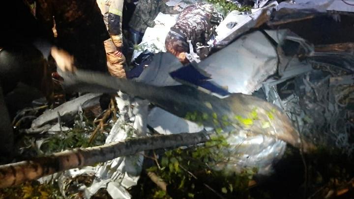 СК рассказал о выживших в авиакрушении под Иркутском. У одного пассажира тяжелые травмы