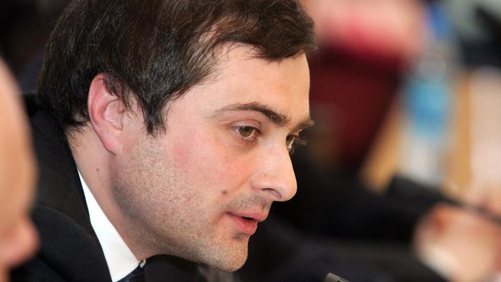 Сурков пожелал Пушилину продолжить дело Захарченко в ДНР