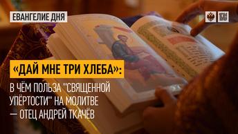 Дай мне три хлеба: В чём польза священной упёртости на молитве — отец Андрей Ткачёв