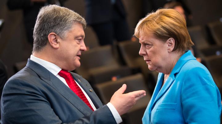 Германия отказалась быть пособником уничтожения Донбасса