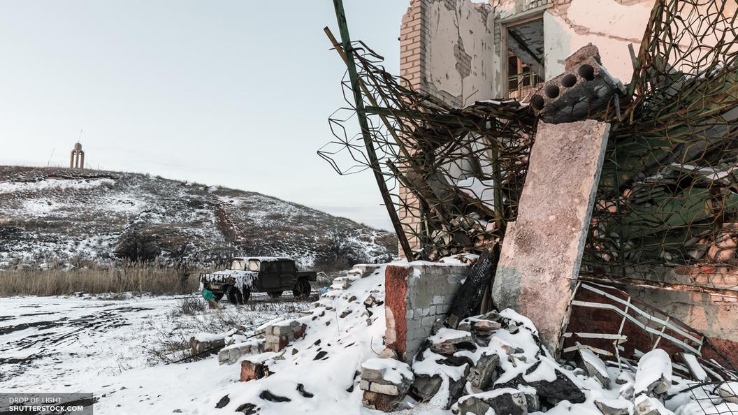 СКР: Украинские каратели расстреляли более 50 домов в Донбассе
