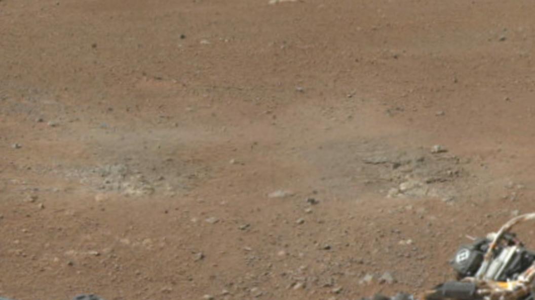 Уфологи: НаМарсе вкратере найдены останки животного