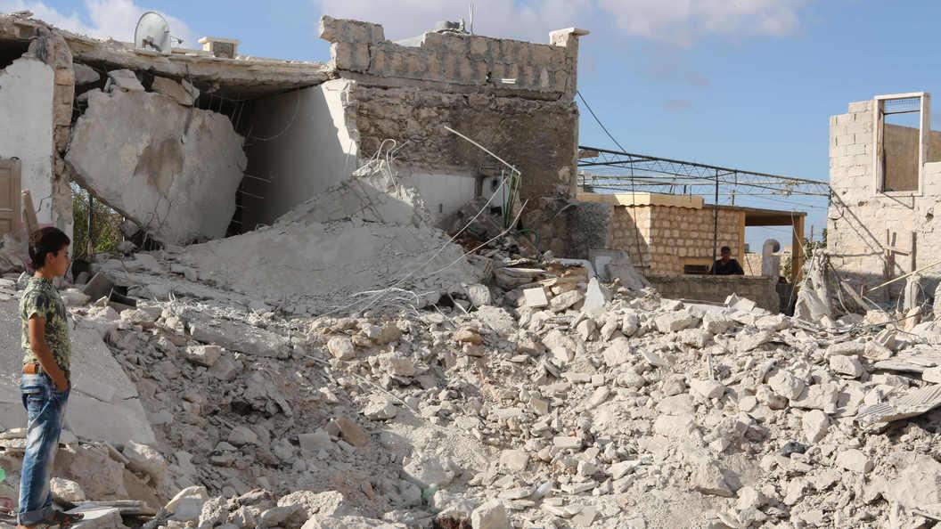 Авиация коалиции во главе с США разбомбила госпиталь в Сирии