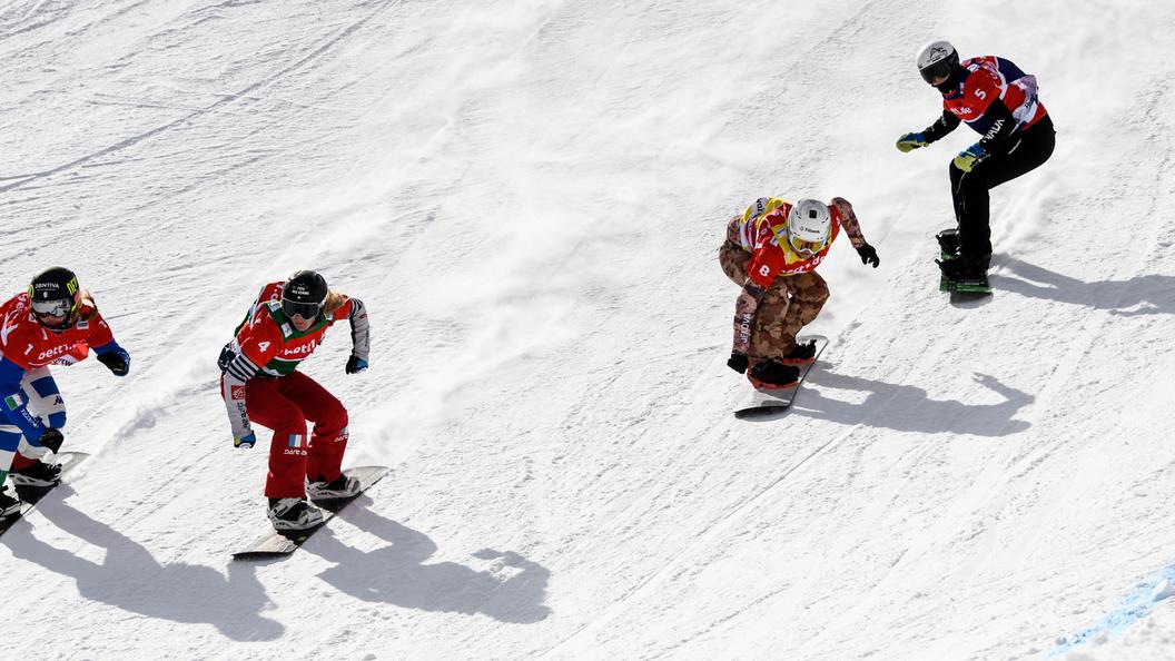 Итальянская сноубордистка Мойоли выигралаОИ вкроссе