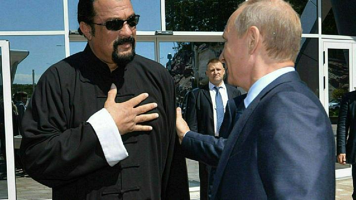 Стивен Сигал готов стать губернатором Приморья: Буду представлять интересы президента Путина
