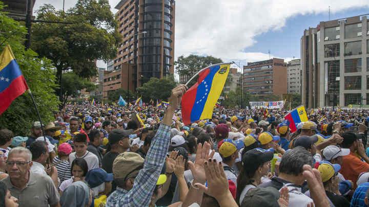 США поддержали Гуайдо нефтяными санкциями против Венесуэлы