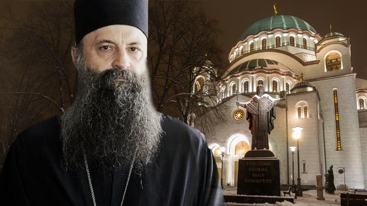 Святейший Патриарх Порфирий: Родился новый Ангел Сербской Церкви