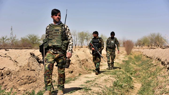 В Кремле оценили вероятность ввода войск России в Афганистан