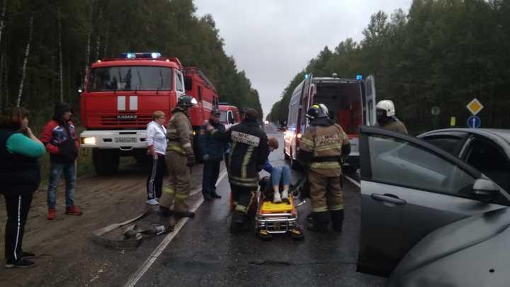 ДТП под Гусь-Хрустальным: Два человека госпитализированы