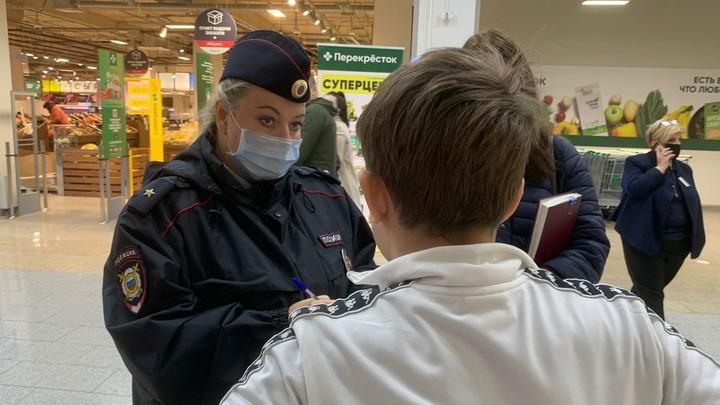 В торговых центрах Ивановской области полиция начала проверять детей и подростков