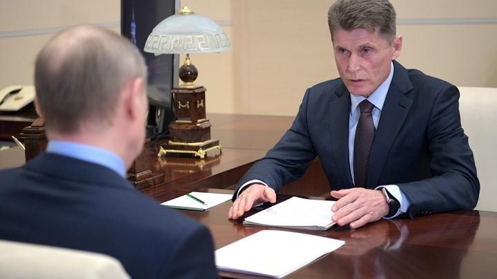 Большинство жителей Приморья отдали свои голоса за Олега Кожемяко