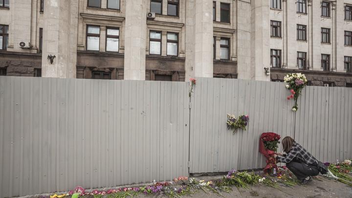Соколовская обвинила в одесской трагедии в Доме профсоюзов российский спецназ