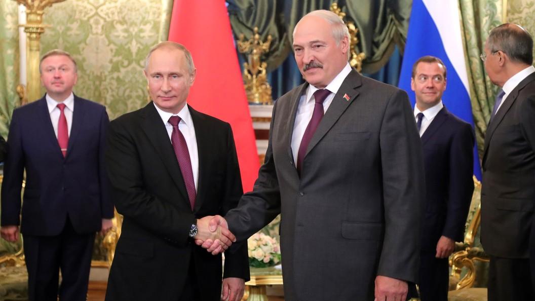 Путин иЛукашенко согласовали позицию по задачам международной повестки