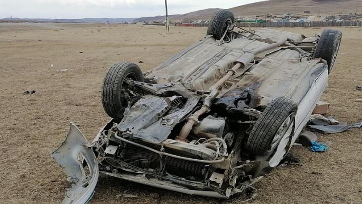 В Шилкинском районе три Тойоты не поделили дорогу