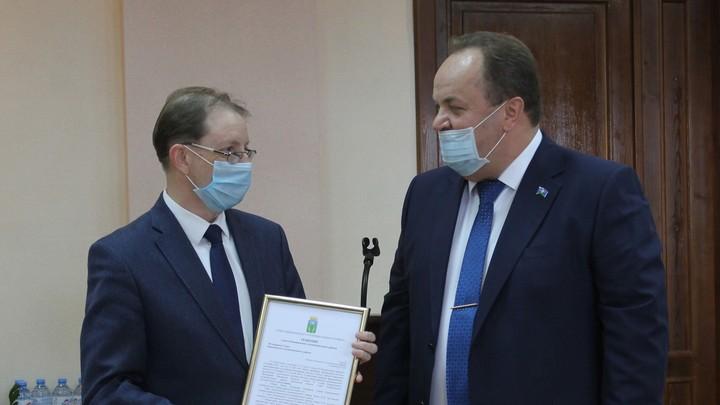Главой Кинешемского района Ивановской области избран Владимир Рясин