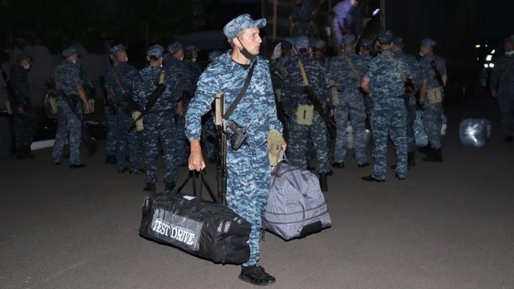 Ивановские полицейские вернулись из командировки на Северный Кавказ