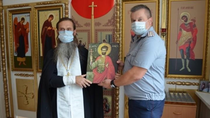 В домовый храм ивановского УФСИН передали православные святыни