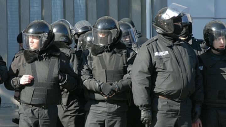 Во Львове вандалы подожгли отделение российского банка
