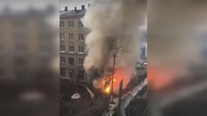 В челябинской больнице прогремел мощный взрыв- трансляция