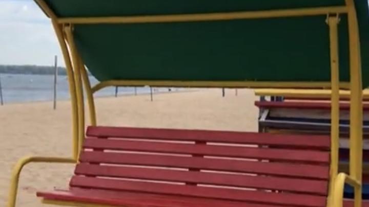 На пляжах Самары ведутся работы по организации безопасности отдыхающих