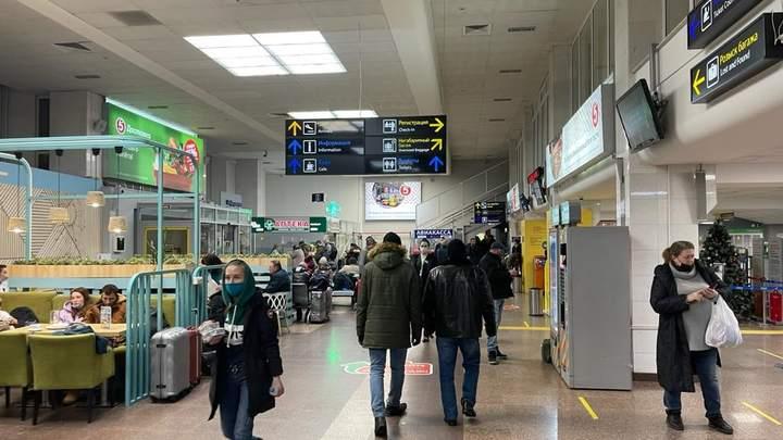 Краснодарский аэропорт из-за непогоды закрыт до полуночи