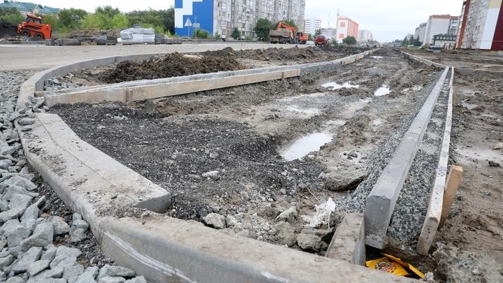 В Кургане в Заозерном построят дорогу с отдельной полосой для городских автобусов