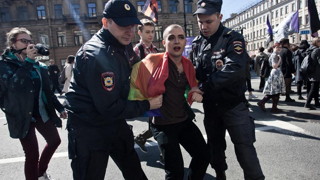 Суд вПетербурге признал легитимным отказ ЛГБТ-активистам провести митинги ишествие