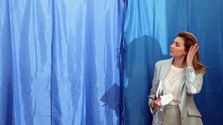 Супруга Зеленского на инаугурации затмила Кучму и Порошенко узорами Триполья