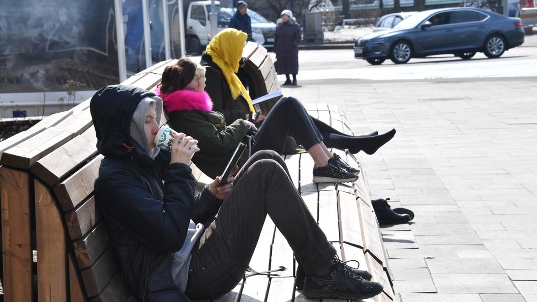 Апрель пошел на рекорд: Такой теплой погоды в Москве не было 70 лет