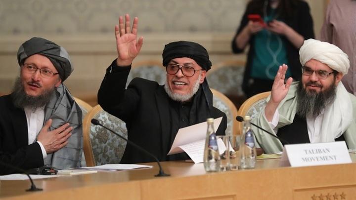 Талибы в Москве потребовали ухода США из Афганистана