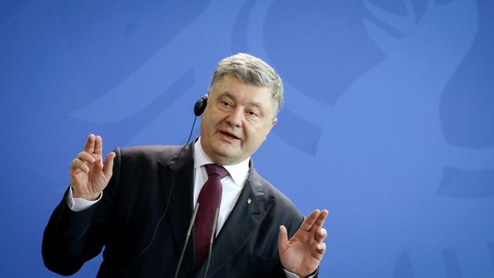 «Организм, ослабленный алкоголем»: Эксперты объяснили заявление Порошенко о войсках защиты от Крыма