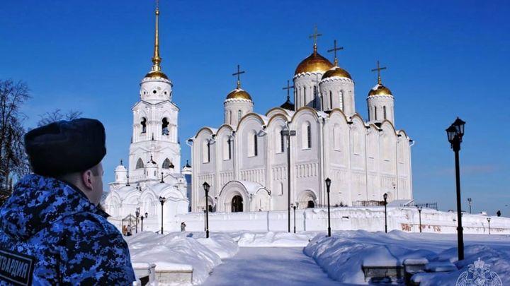 Во Владимире в Крещение проруби и храмы будет охранять Росгвардия