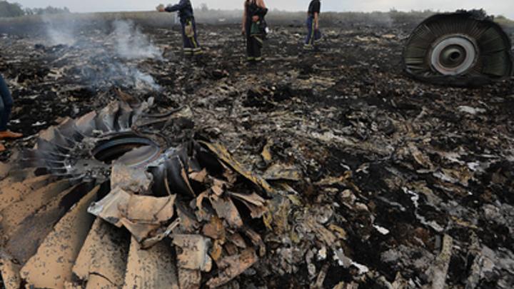 298 намеков на MH17 оставили русофобы-провокаторы у посольства России в Гааге