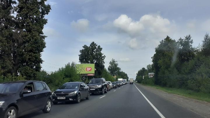 Готовность дорожной развязки в районе деревни Ольгино составляет 98%