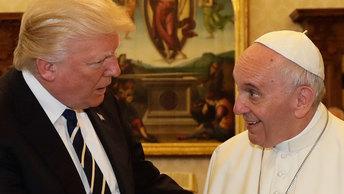 Зачем Папа Франциск и Трамп встречались в Ватикане
