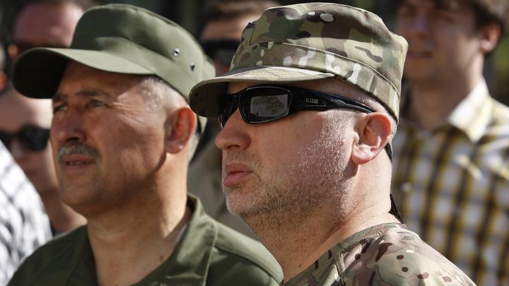«Кровавый пастырь» Турчинов обрадовался «адекватности» американцев, атаковавших Сирию ночью