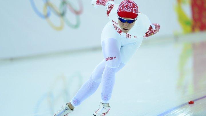 Ольга Граф: На конькобежной дорожке будет русский флаг в моих руках