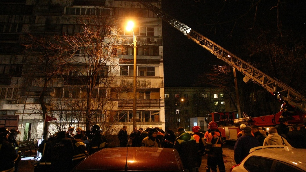 На юго-востоке Москвы прогремел взрыв