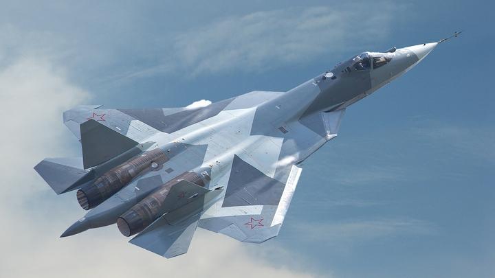 Названы цели появления новейших истребителей Су-57 в небе над Сирией