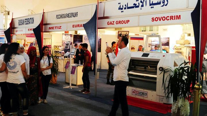 Террористы обстреляли международную выставку в Дамаске